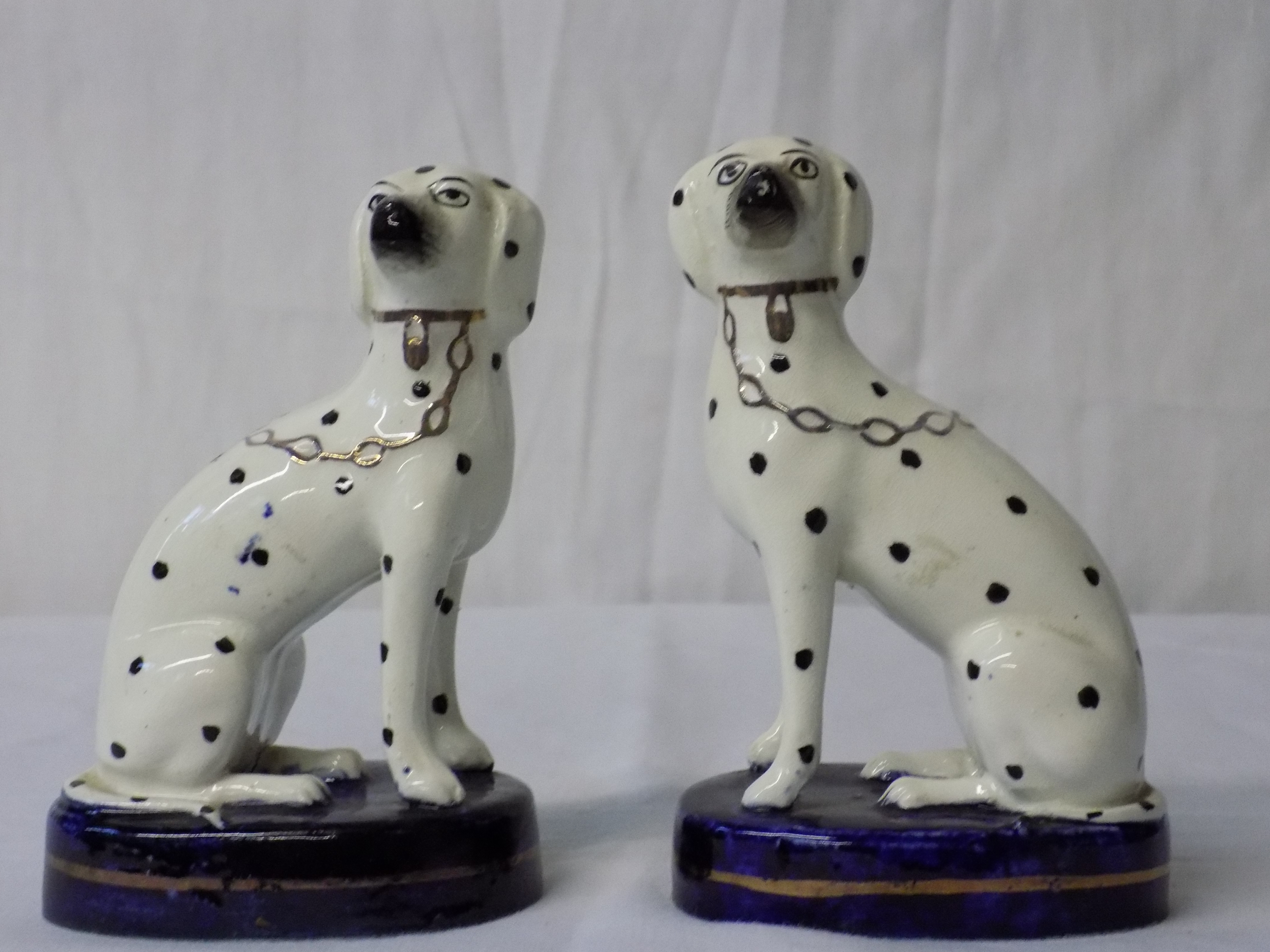 Pair of Staffordshire Dalmations