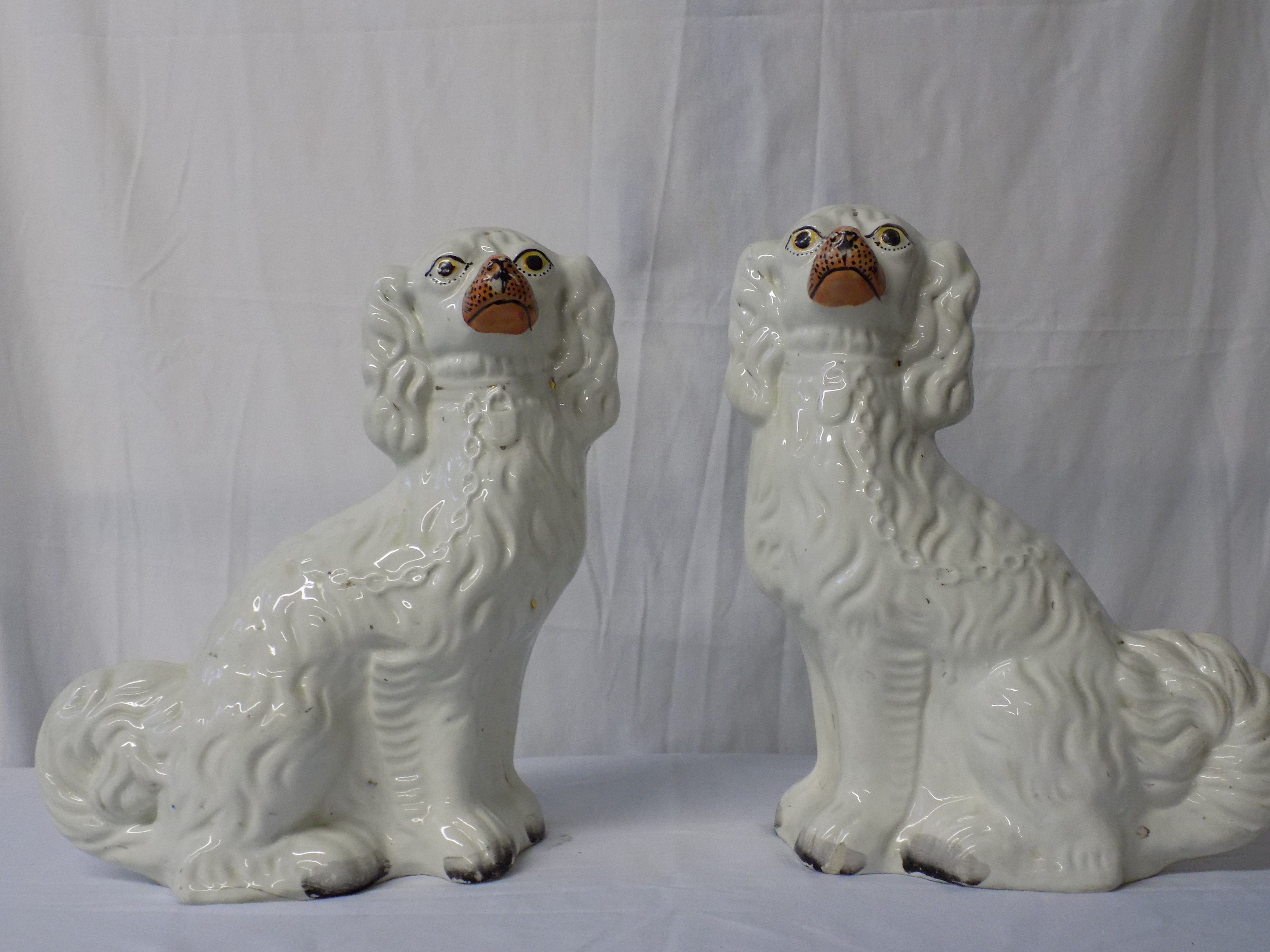 Pair of Staffordshire Spaniels
