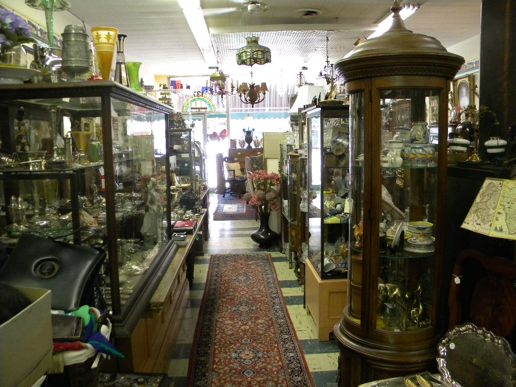 Inside of Anchor Antiques